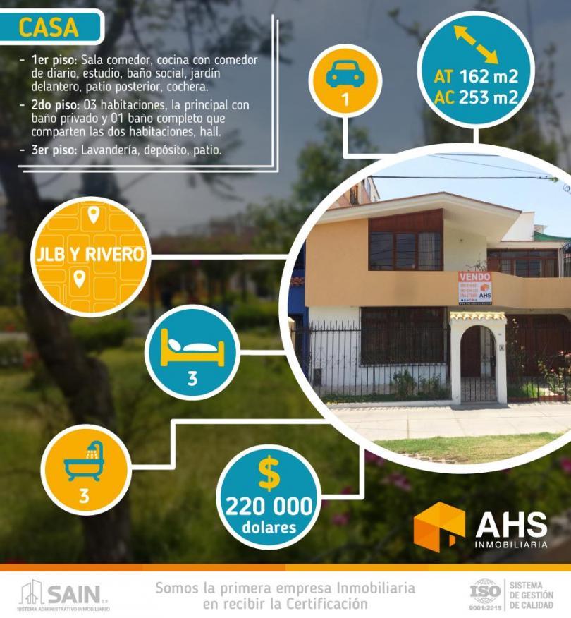 Vendo Bonita Casa Frente A Parque De 02 Pisos En Urb Alto